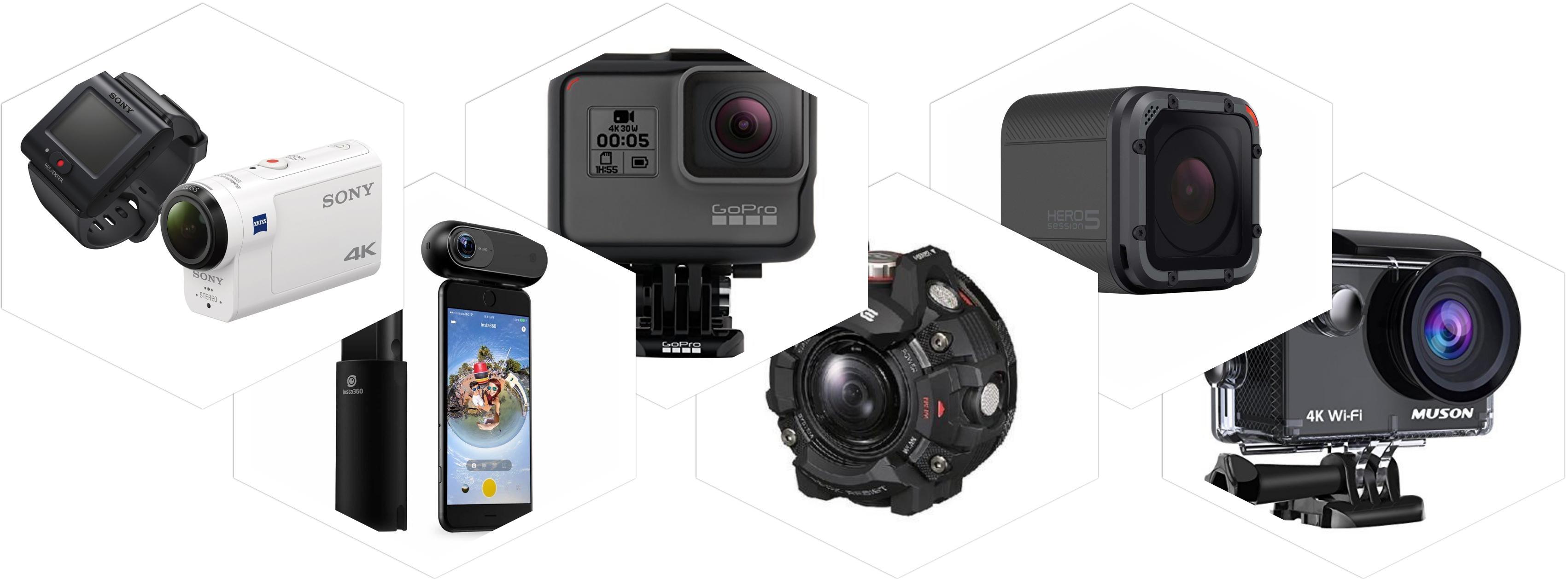 アクションカメラおすすめランキング人気ベスト3【2020最新】